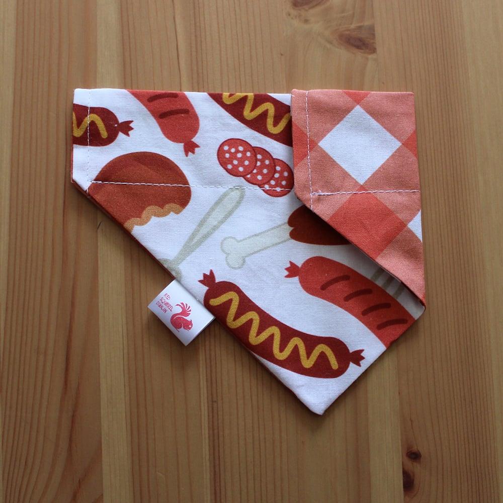 Image of Barbecue dog & cat bandana