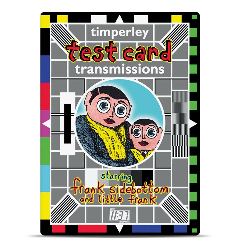 Image of Timperley Testcard Transmissions DVD