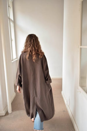Image of  URSULA Linen Duster Coat