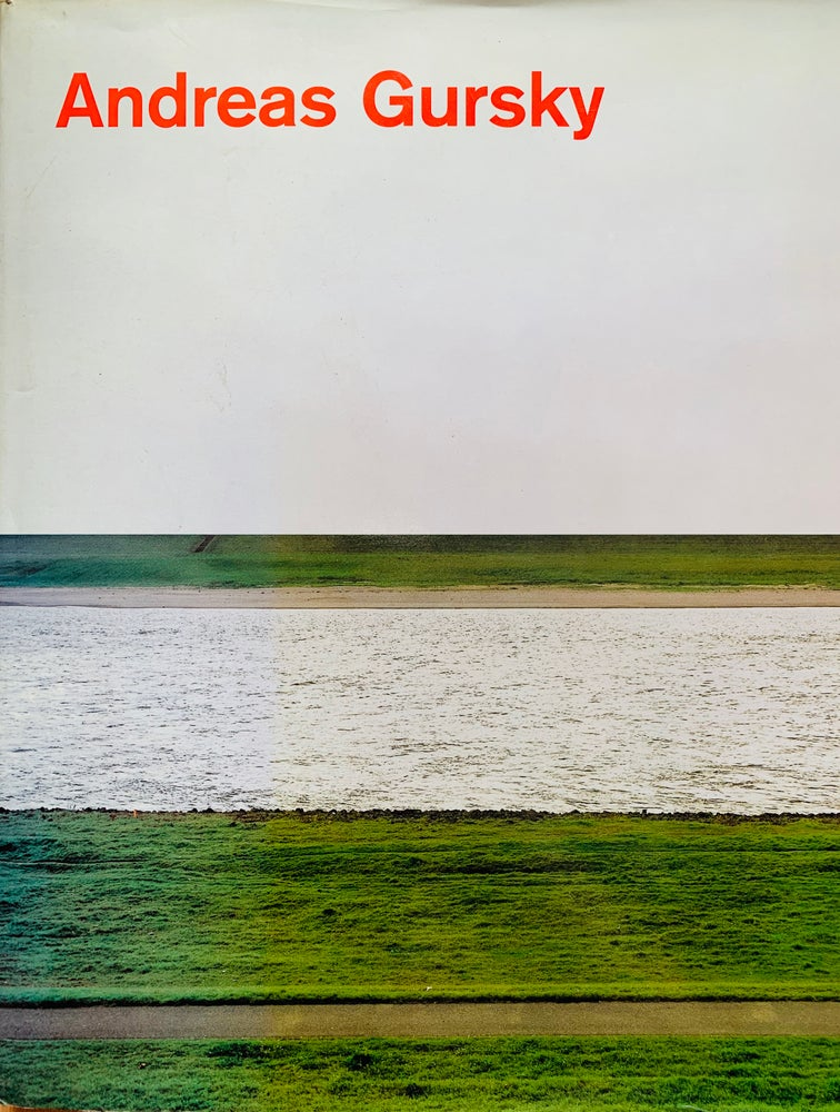 Image of (Andreas Gursky)(アンドレアス•グルスキー)(1998)(Schirmer/Mosel)