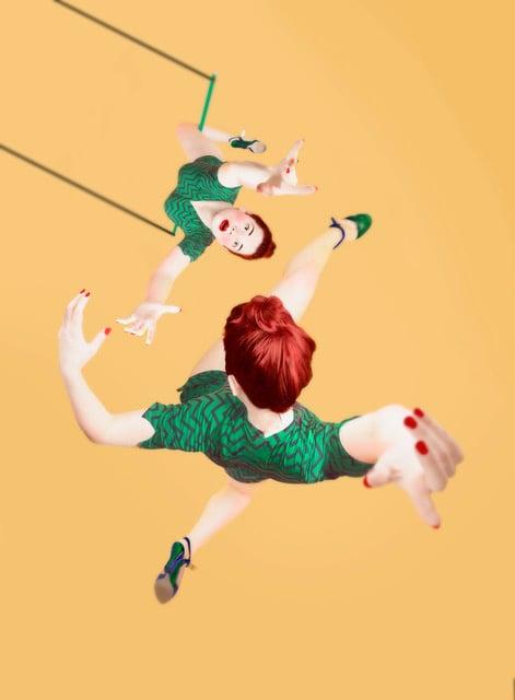 Flying trapeze ou le Trapéziste à ciel ouvert