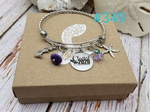 Image of Class of 2020- Adjustable Bangle- #349