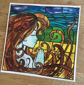 Image of Stained Glass Window Sticker