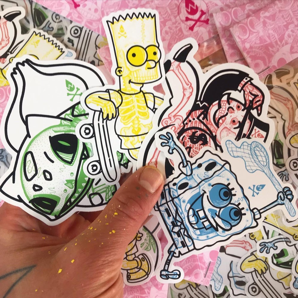 Image of 'B's' Sticker pack