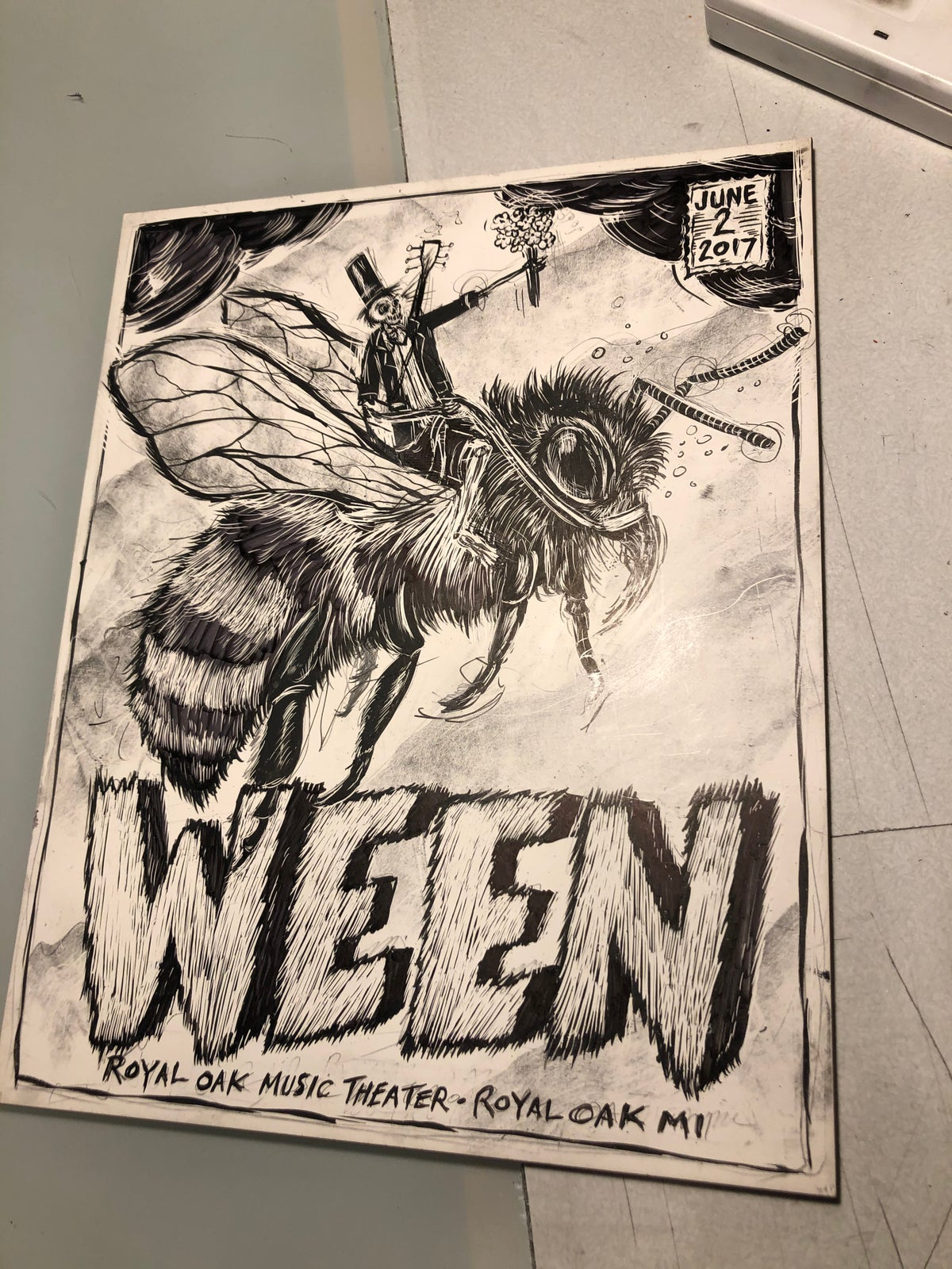 WEEN original art