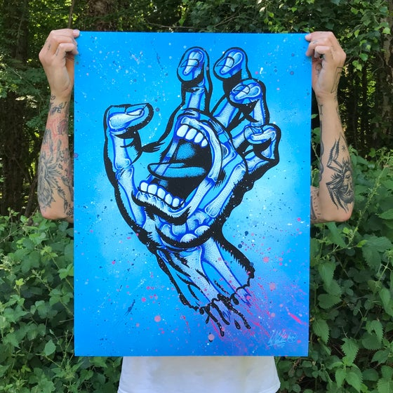 Image of Screaming Bones Hand Finished Edition