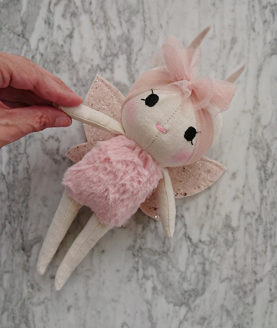 Image of Wonderforest Butterfly doll - pink
