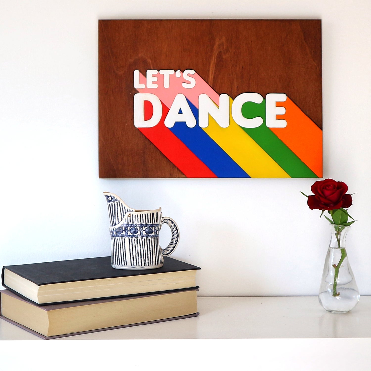 Image of Let's Dance Woodcut Artwork