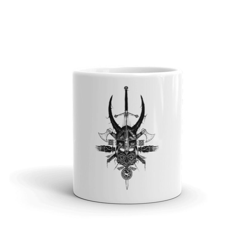 Image of CELTIC HELMET II 1996 MUG