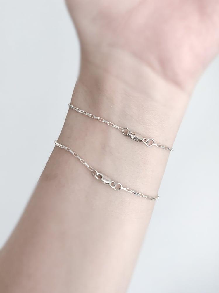 Image of Plain Chain - Anklets, Bracelets, Necklaces