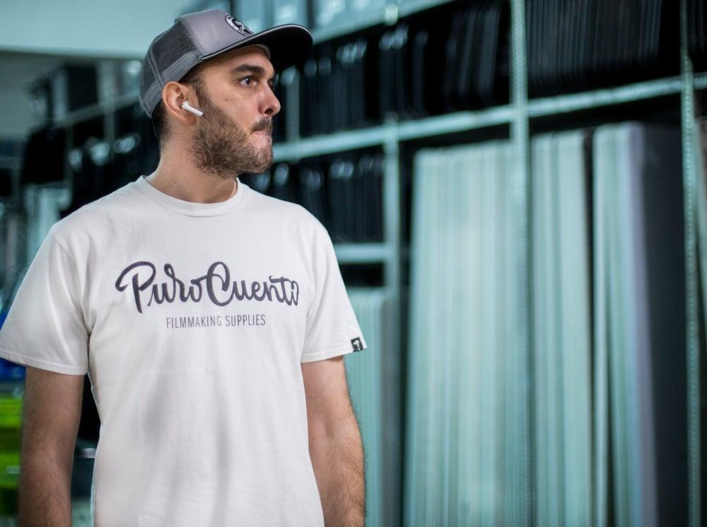 Image of PuroCuento white T-shirt