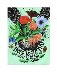 Image of Hope is the Thing in a Little Bit of Soil : 11 x 14 inch Archival Inkjet Print (Giclée)