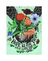 Hope is the Thing in a Little Bit of Soil : 11 x 14 inch Archival Inkjet Print (Giclée)