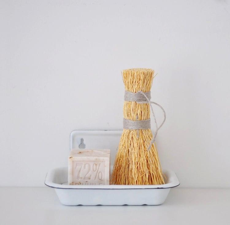 Image of Brosse à récurer en blé
