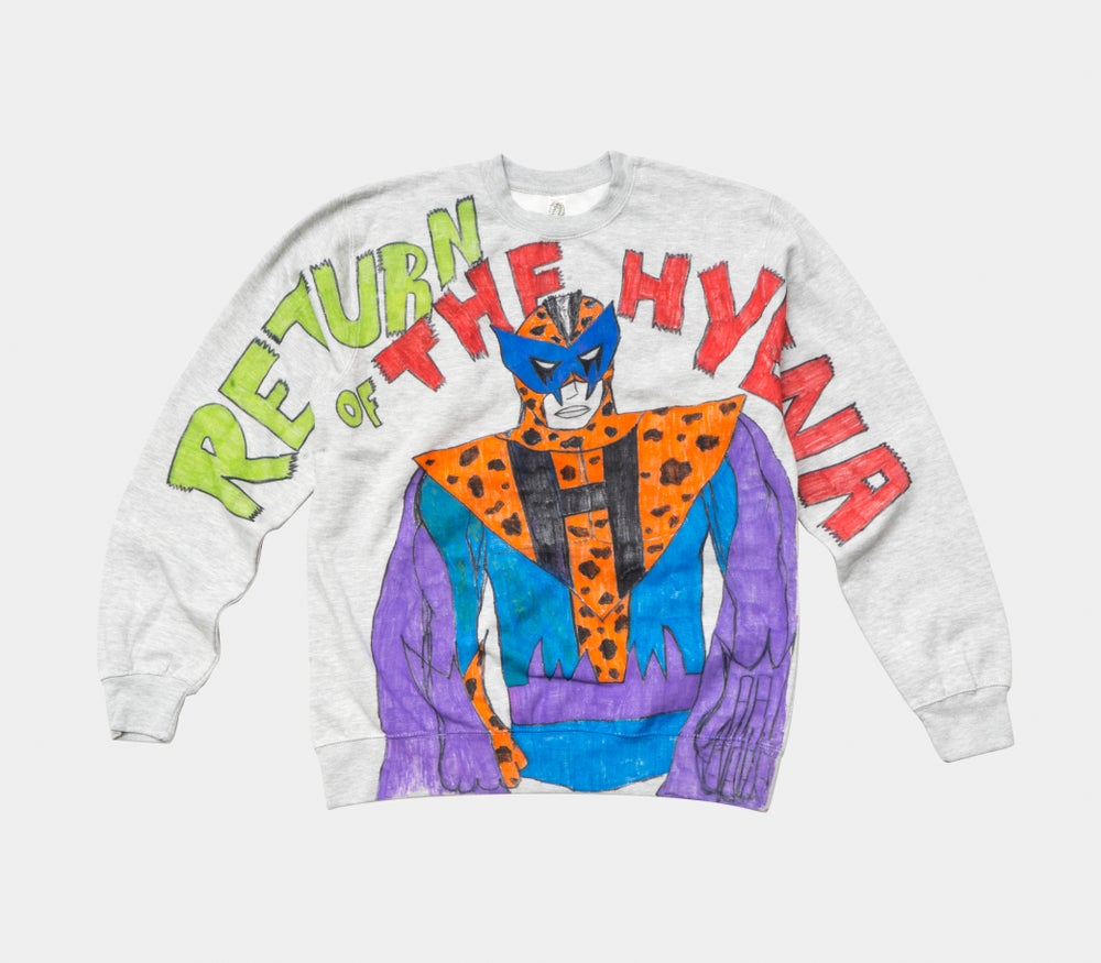 Image of Return Of The Hyena Crewneck
