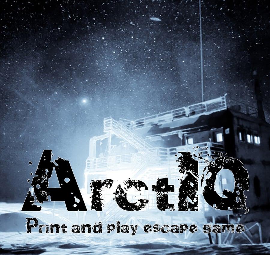 Image of ArctIQ - Print & Play Escape Room Game