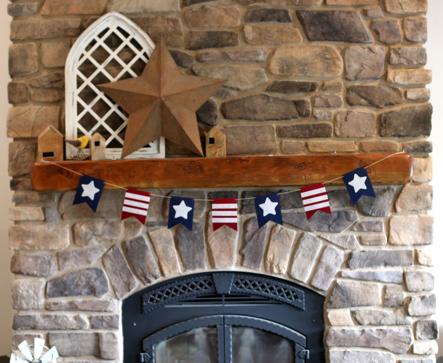 Image of Patriotic American Banners, 3 styles | FREE SHIPPING