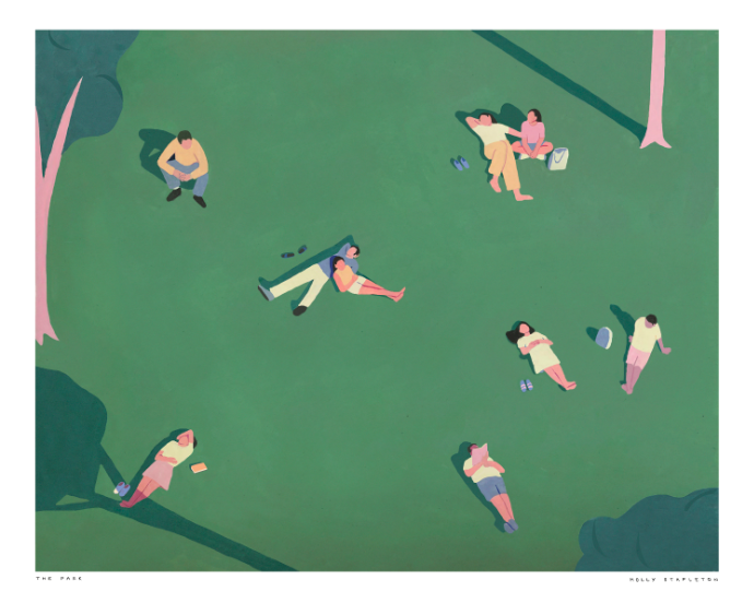 The Park Poster Print