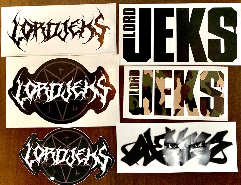 Image of New Assorted Sticker Pack