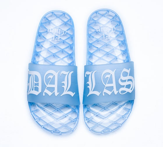 Image of DALLAS JELLY SLIDES (NOW SHIPPING)