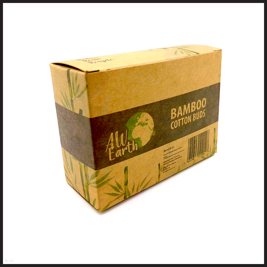 PLASTIC FREE BAMBOO COTTON BUDS