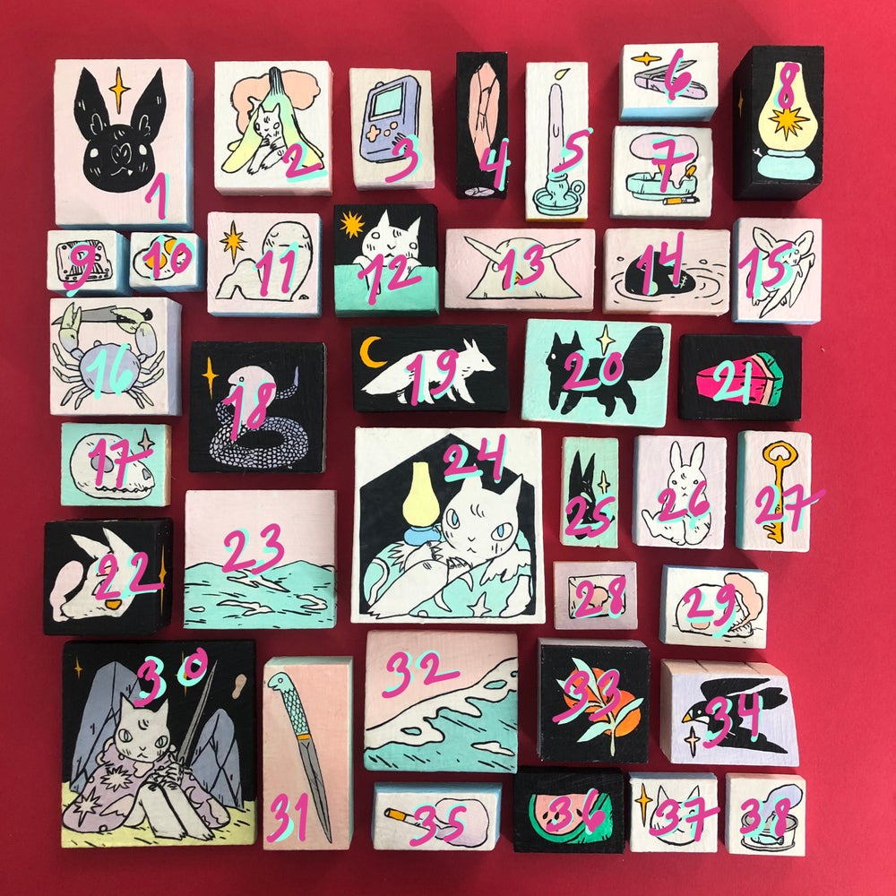 Image of Baby Paintings (Lot 12)