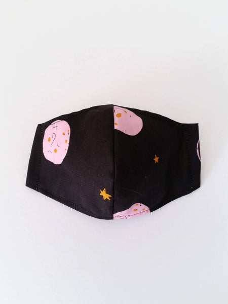 Image of KIDS Mask - Pink Moon
