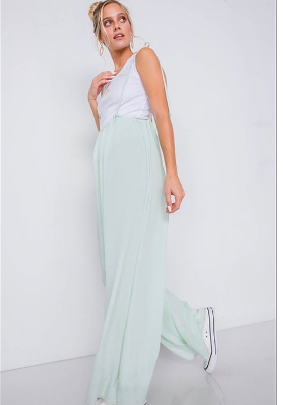 Image of Mint Sherbet Overalls