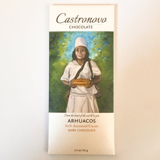 Image of Castronovo Chocolate 80% Arhuacos Dark Chocolate
