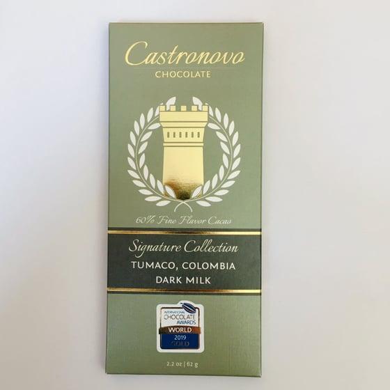 Image of Castronovo Chocolate 60% Tumaco Dark Milk Chocolate