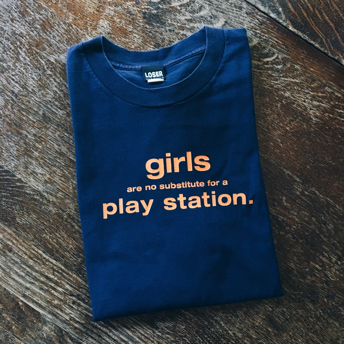 Image of Original 90's Girls PlayStation Tee.