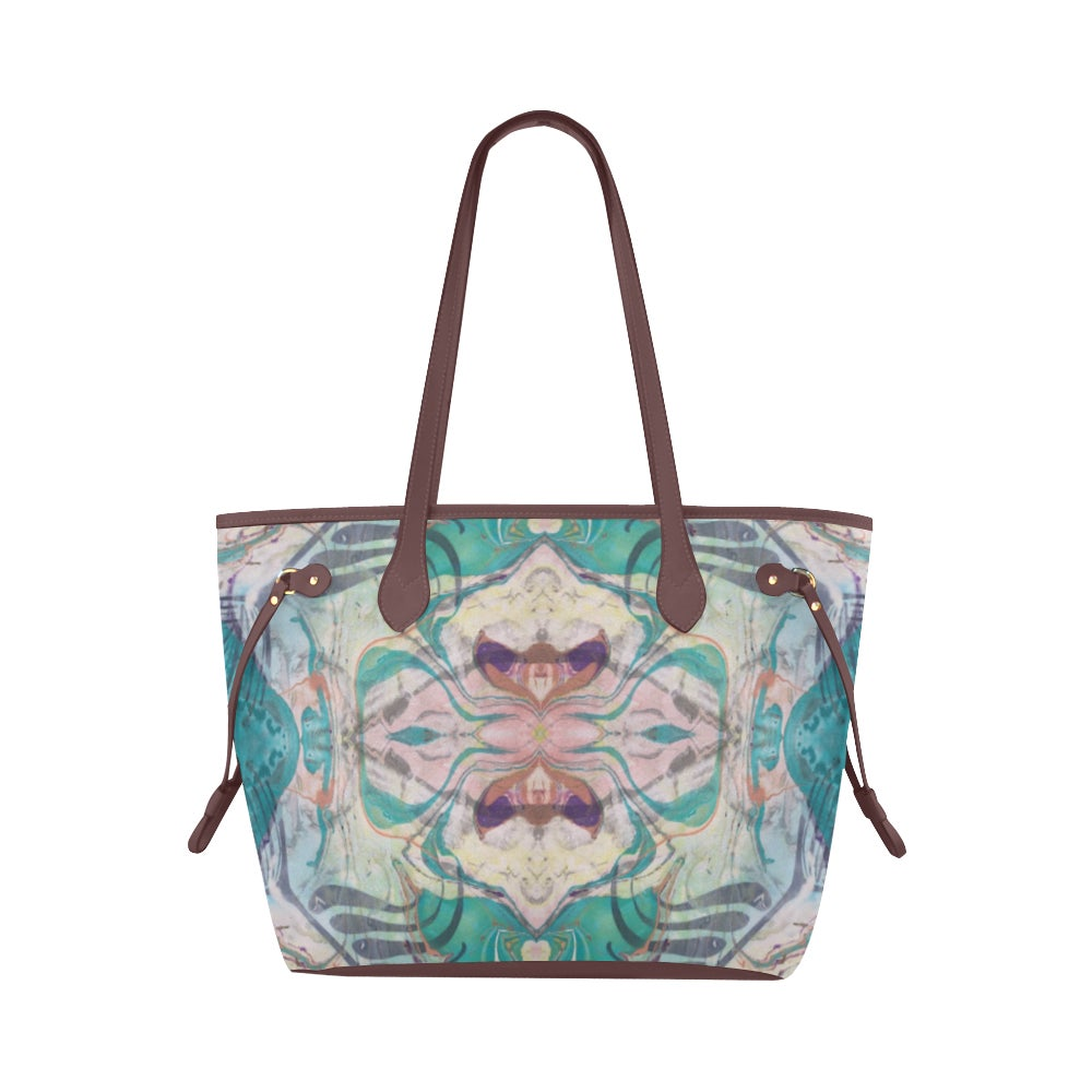 Image of Teal Waterproof Tote