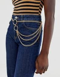 Swoop Waist Chain Belt