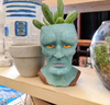 Handsome Squidward planter