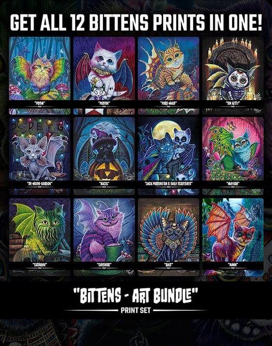 Image of Bittens (Art Bundle) - Print Set