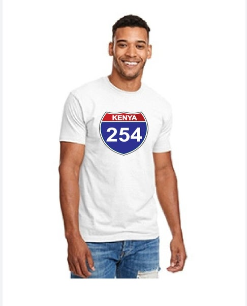 Image of 254 fitted white tshirt