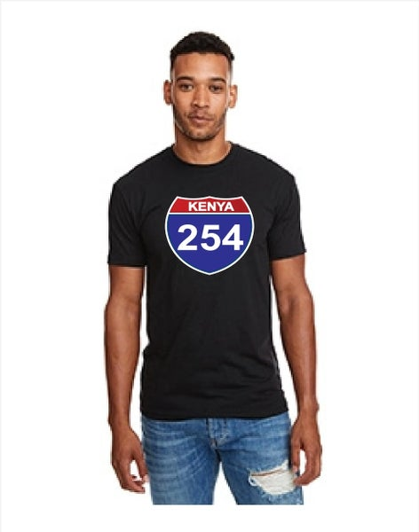 Image of 254 fitted black tshirt