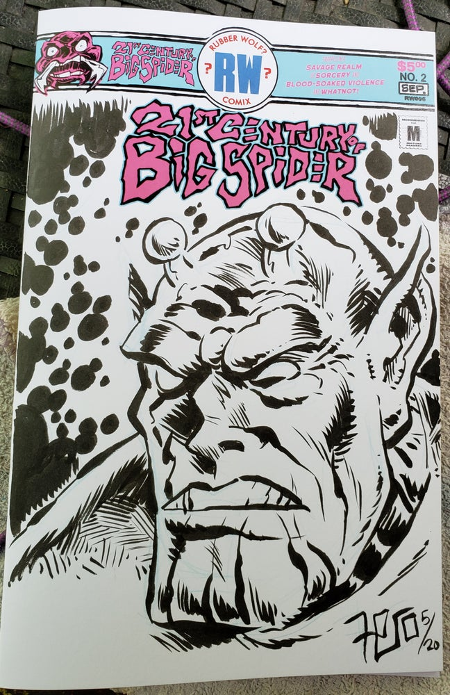 Image of 21st Century of Big Spider #2 -sketch cover (illustrated)