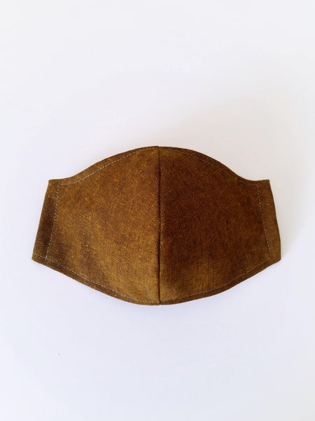 Image of MENS Mask - Sandalwood Linen