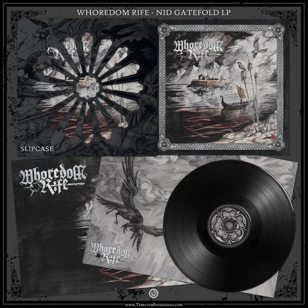 "Image of Whoredom Rife - Nid: Hymner Av Hat (Gatefold 12""LP)"