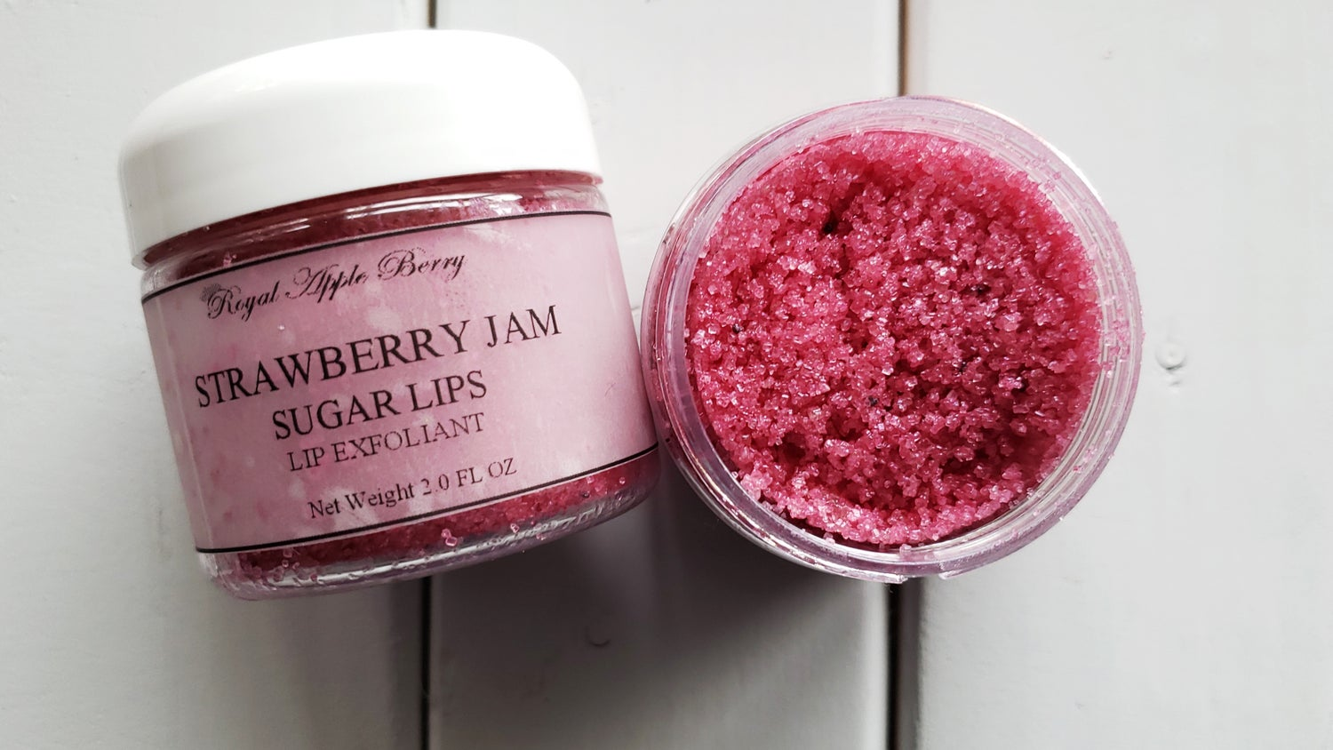 Image of STRAWBERRY JAM SUGAR LIPS LIP EXFOLIANT