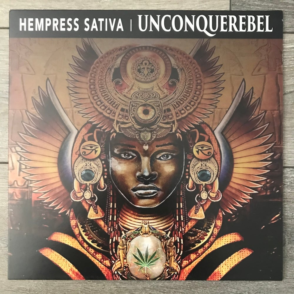 Image of Hempress Sativa - Unconquerebel Vinyl LP