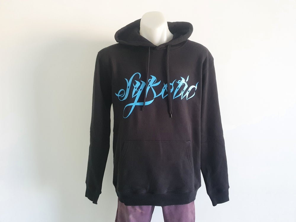 Image of OG Pullover Hood (Electric Blue)