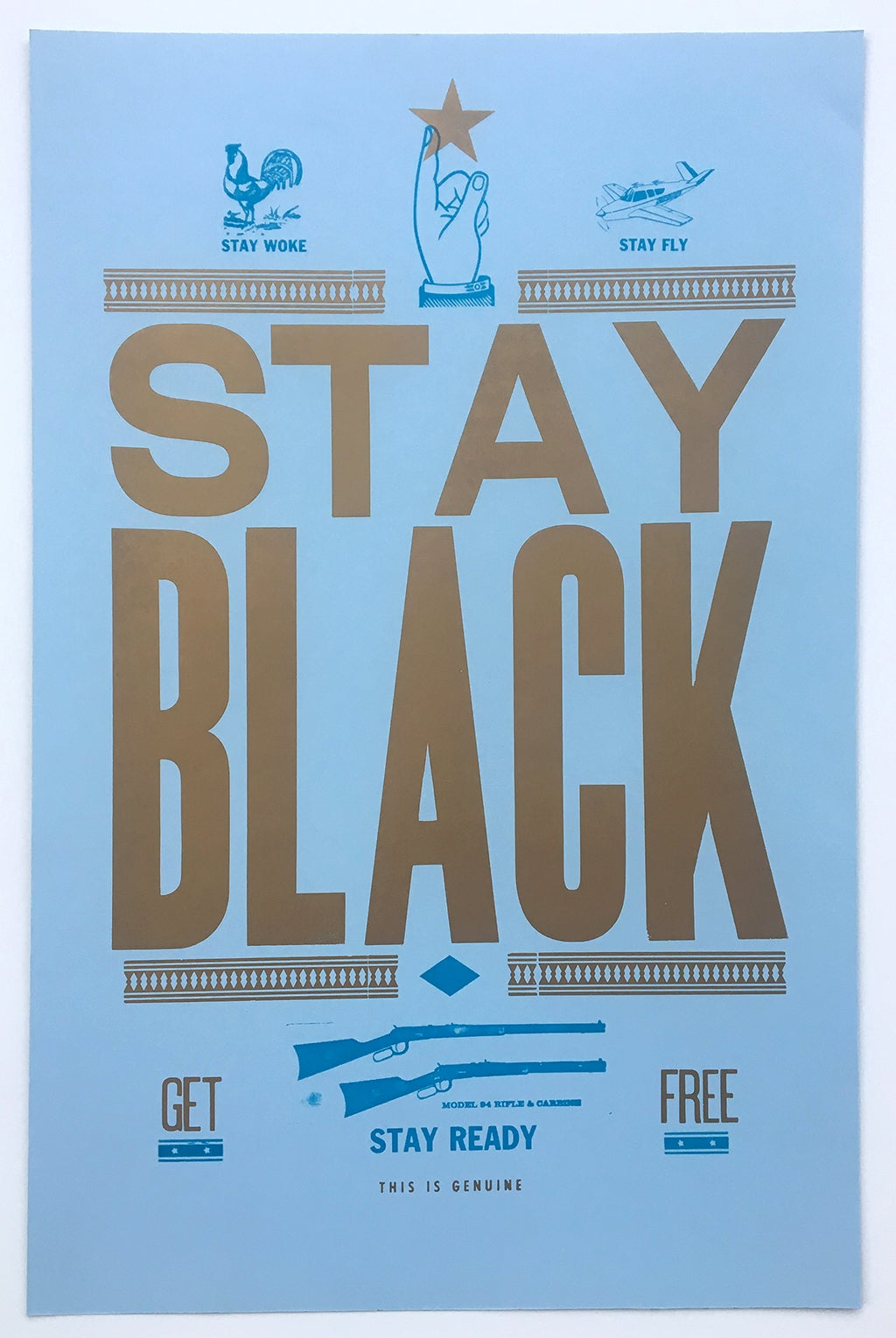 Image of Stay Black Poster