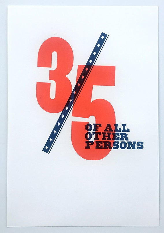 Image of 3/5 Of All Other Persons Poster