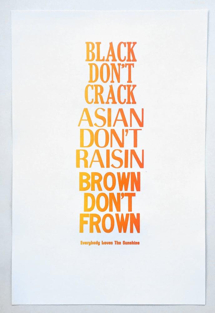 Image of Black Don't Crack poster