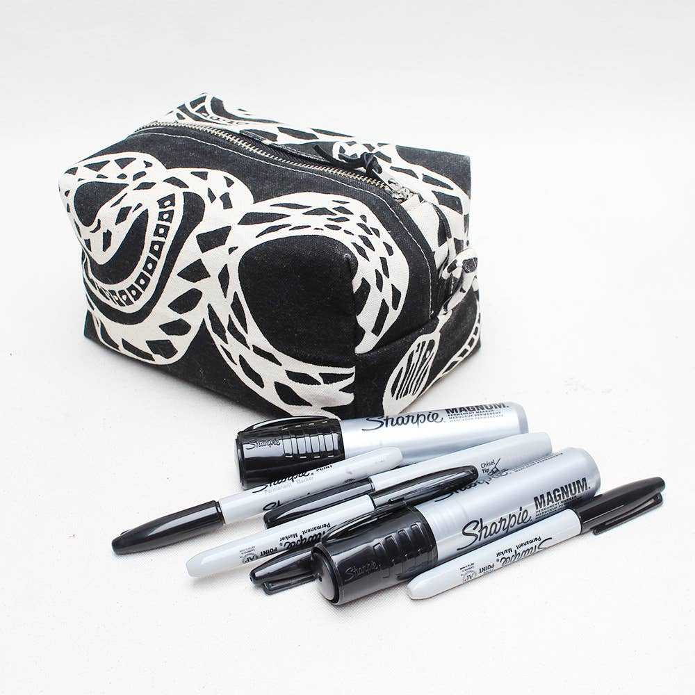 Image of Screen Printed Dopp Kit