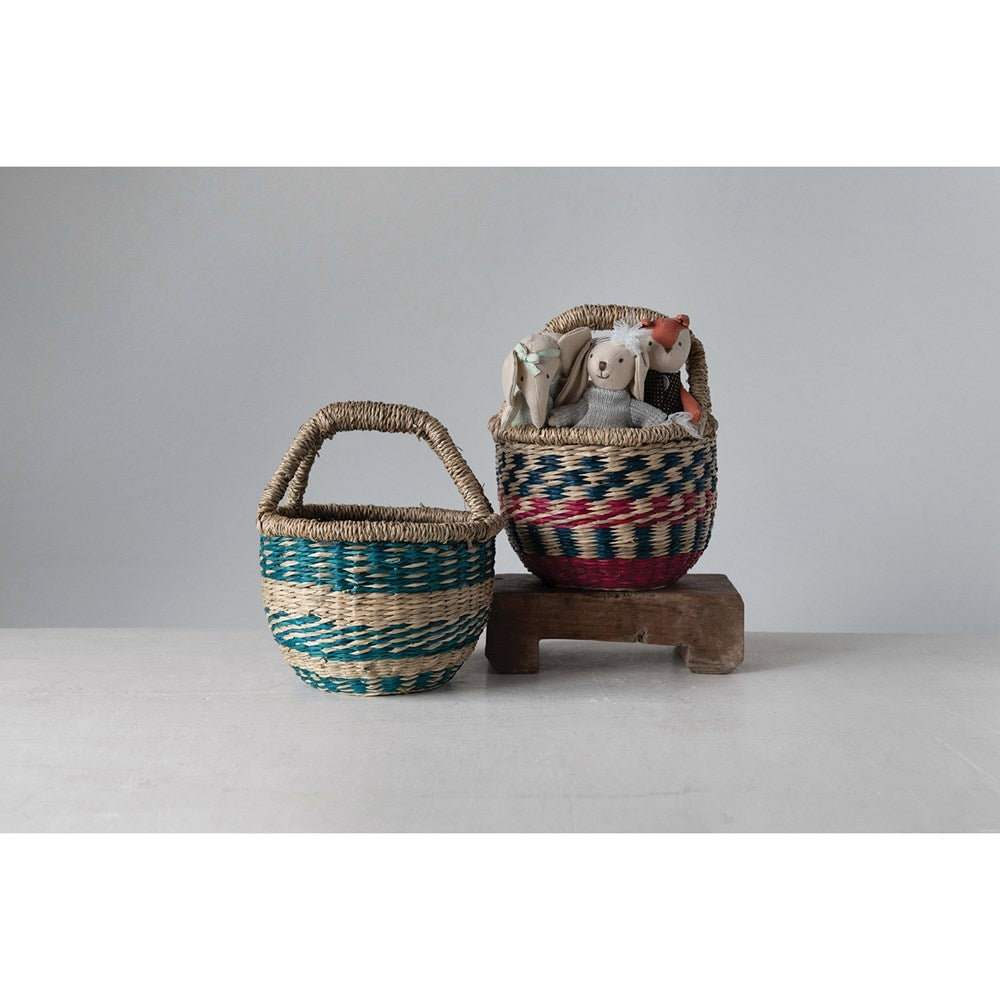 Image of Handwoven Mini Market Basket