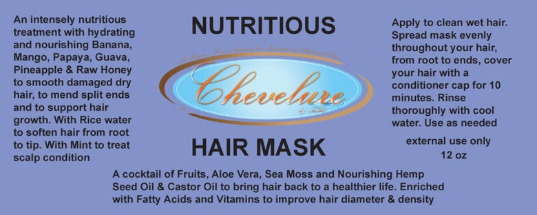 Image of NUTRITIOUS HAIR MASK