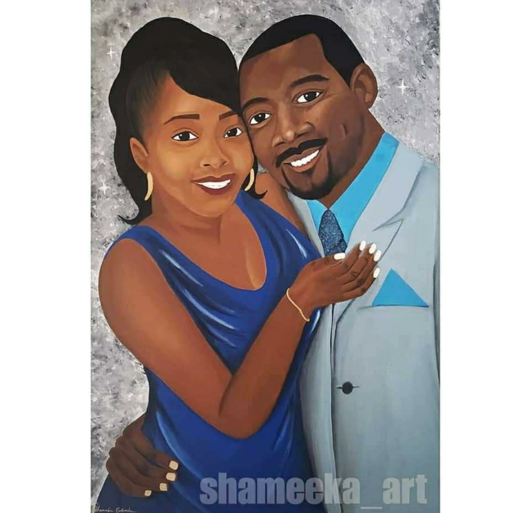 Image of 24x36 Portrait Painting $250.00